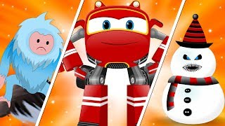 Christmas SuperCar Cartoon Chase and Rhymes for Kids | My Little TV