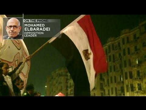 CNN: Mohamed ElBaradei: Mubarak 'a dead man walking'