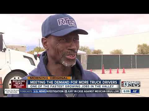Truck Driving Is One Of Nevada's Fastest Growing Jobs