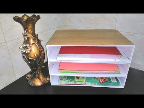 Best Out Of Waste Craft ideas|DIY Paper Organizer