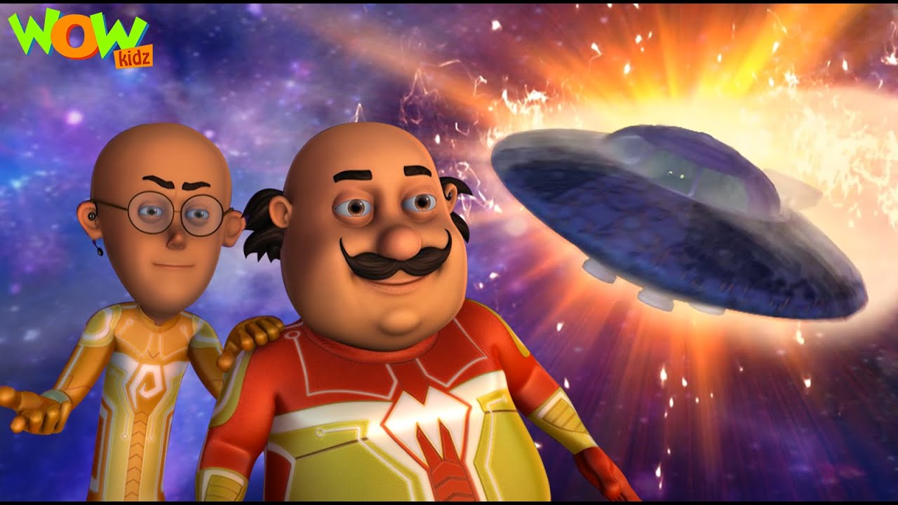 Download Motu Patlu Vs Supervillian From Mars | New MOVIE | Funny Animated Movie | Wow Kidz