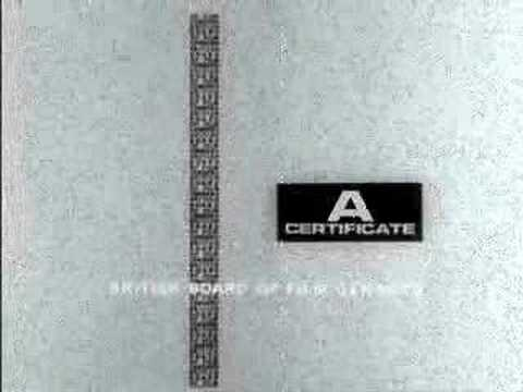 BBFC Certificates
