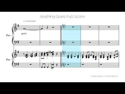 Anything Goes Full Score