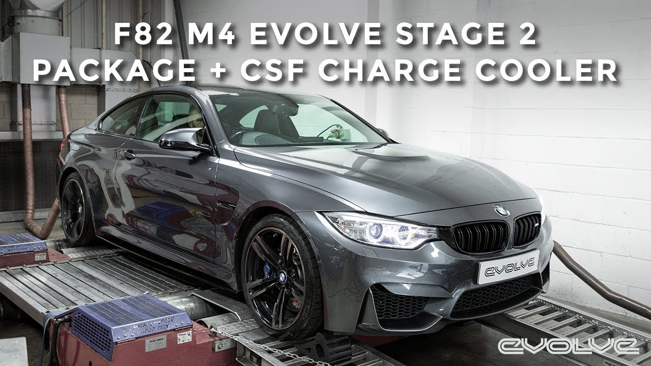 F82 M4 Evolve Stage 2 Package Csf Charge Cooler Youtube