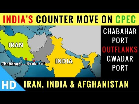 Chabahar Port, India-Iran-Afghanistan Friendship