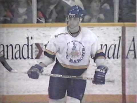 Ft.McMurray Oil Barons vs Olds Grizzlies 1994 AJHL Finals -  Game 4 part 3