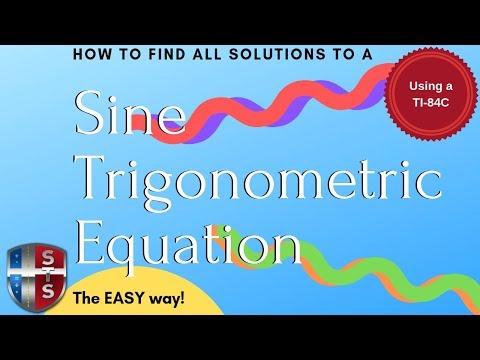 Math Analysis - Trigonometric Equation - Find all solutions - Sine
