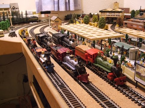 Hornby Triang etc Fun In The Good Old Wild West & Includes Toy Story 3 With John & Sam.
