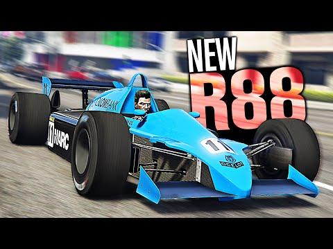 GTA 5 Online - NEW Ocelot R88 Customization! (F1 Car Diamond Casino Heist)