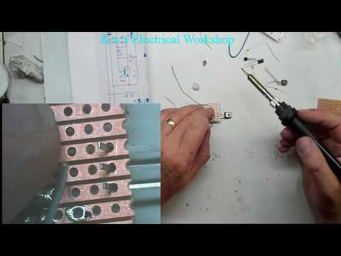 Cross LED Dot Matrix Display Circuit Board Rotating Electronic Kit Part 4
