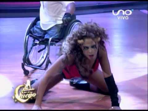 VIDEO: Bailando por un Sueño Bolivia: Sandra Alcázar y Rubén Jara bailan Reggaeton