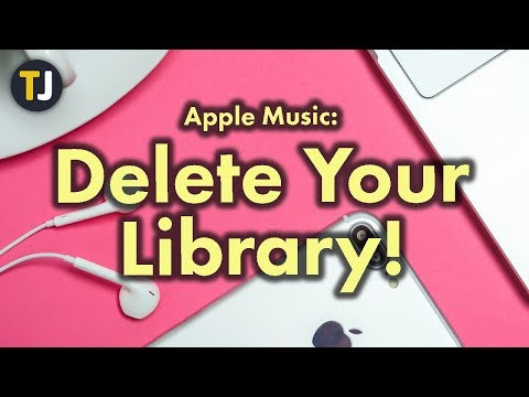 Delete Your ENTIRE Apple Music Library!