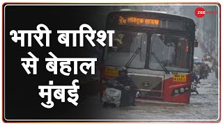 Mumbai Rain Update: मौसम विभाग ने जारी किया Red Alert   Weather Report   Mumbai Weather News
