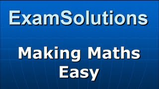 A-Level Maths Edexcel C2 January 2009 Q1 : ExamSolutions