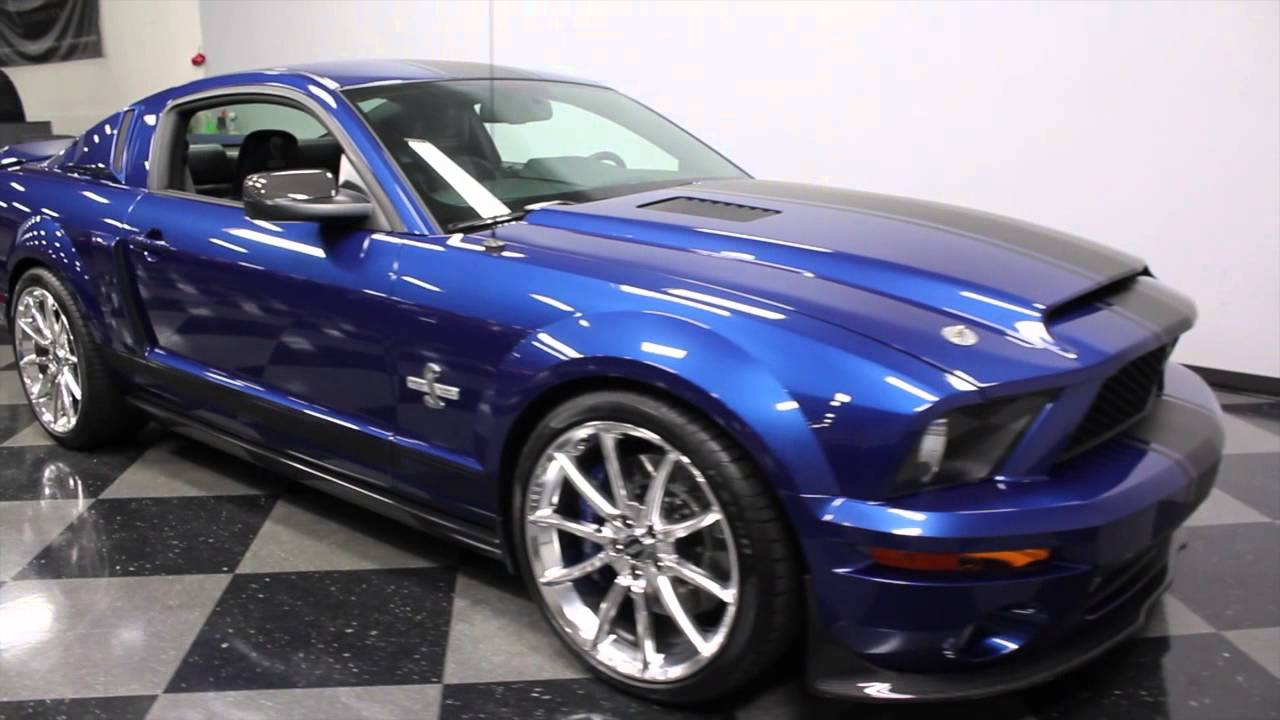 Shelby Gt500 Super Snake >> 2765 CHA 2007 Ford Mustang Shelby GT 500 Super Snake - YouTube