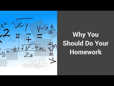 MOOC USSV101x | Veteran Voices: How to Study for Technical Courses | Why You Should Do Your Homework