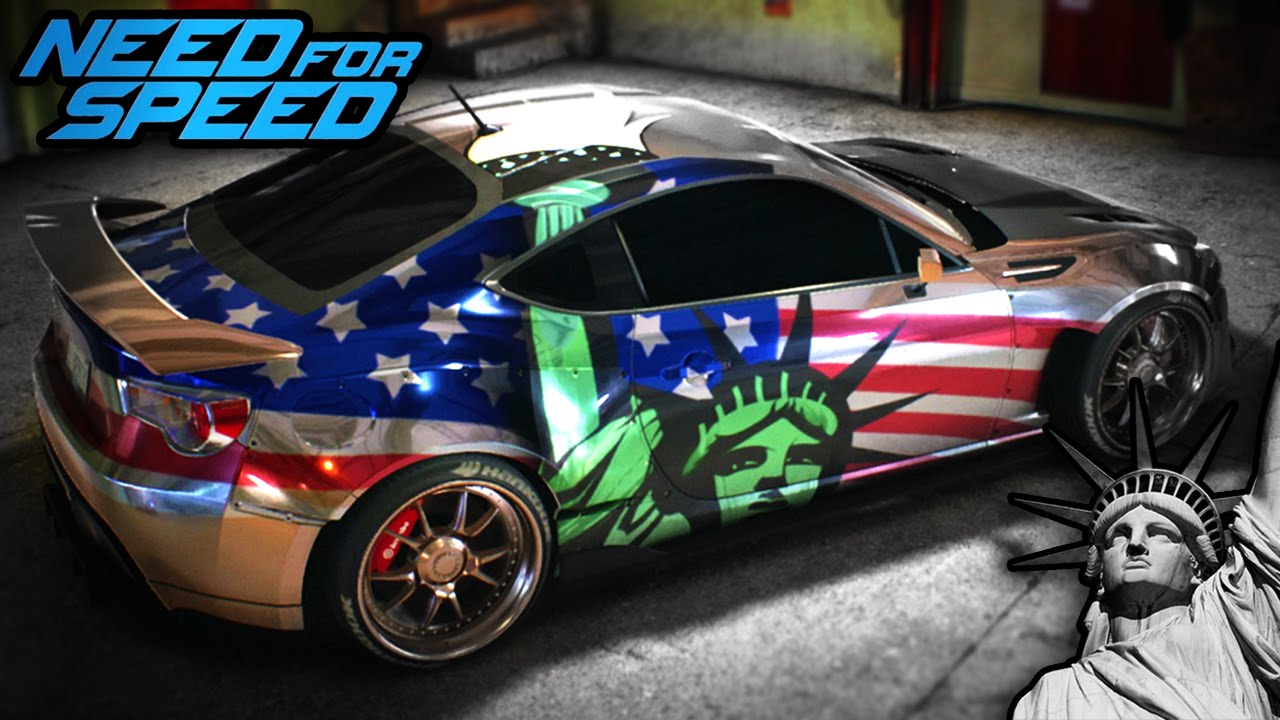Car Stickers Wallpaper Need For Speed 2015 Vinyl Design Statue Of Liberty Speed