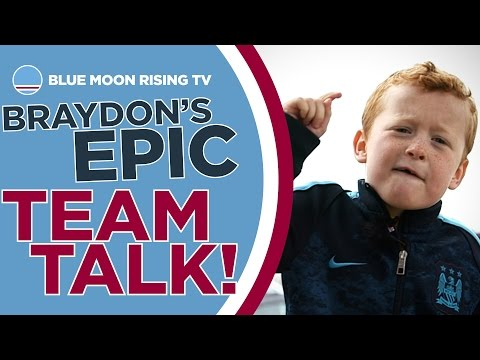 Braydon's Amazing Speech to Manchester City! | Real Madrid vs Man City