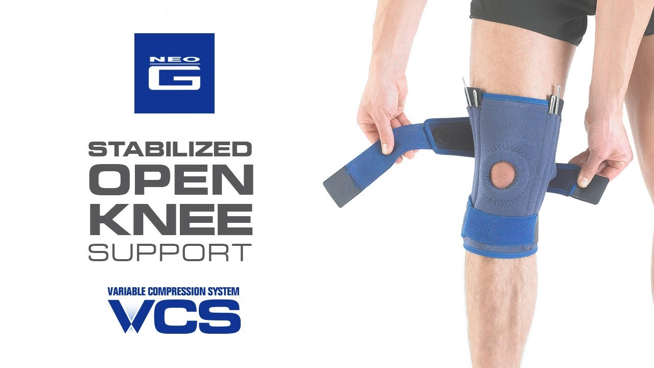 e1cc21ea5f Neo G Stabilized Open Knee Support – Neo G UK