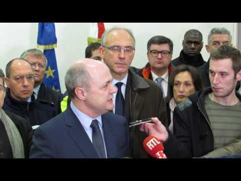 Intervention du ministre de l'Intérieur, Bruno Le Roux, sur le carambolage.