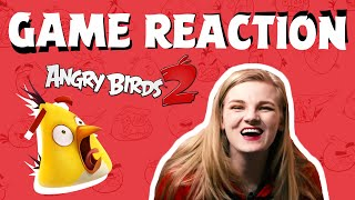Angry Birds Game Reaction | Taking on the saga map Angry Birds 2!