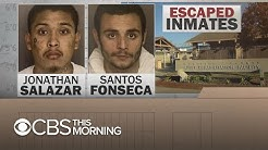 California jail escape: Two accused murderers carved hole in ceiling