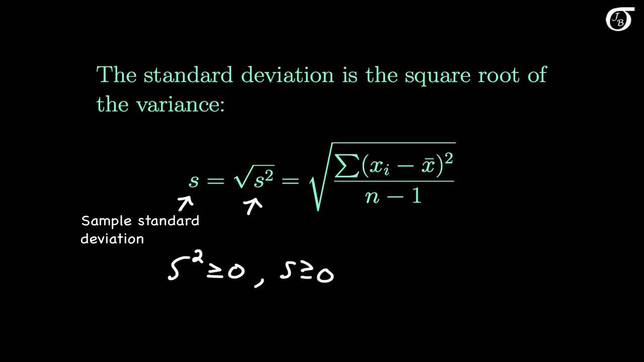 medium resolution of Measures of Variability (Variance