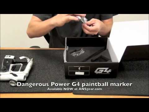 Dangerous Power G4 paintball gun review