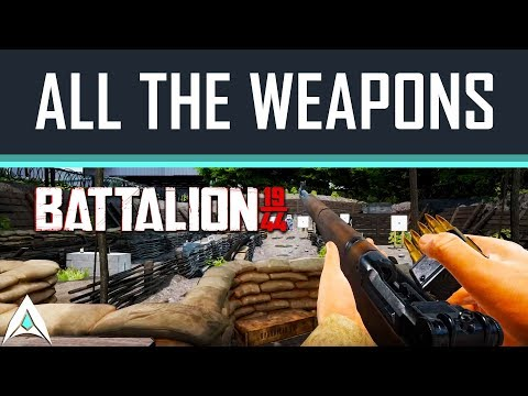 Battalion 1944 Weapon Showcase (All weapons from the Beta)  