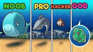 Minecraft - UNDERWATER HIDE AND SEEK! (NOOB vs PRO vs GOD vs HACKER)