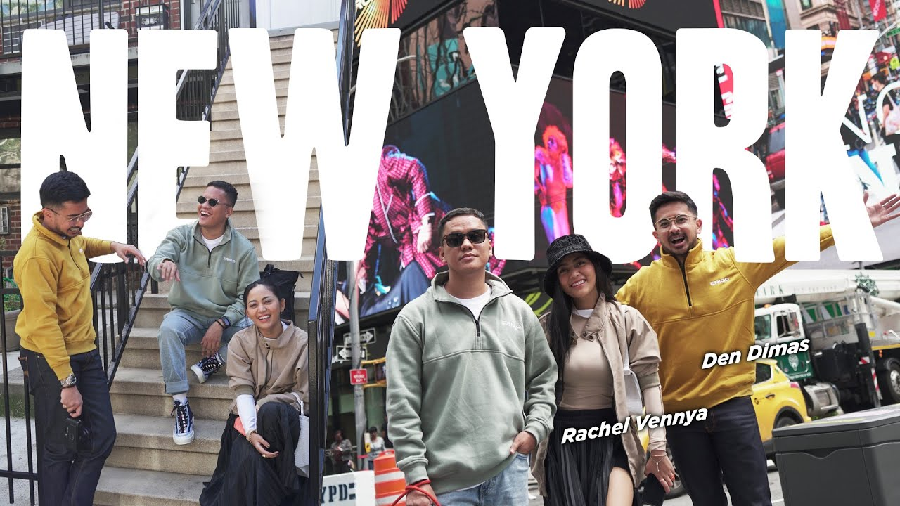 Download Travel-VLOGGG: NEW YORK! Kerja Rasa Liburan