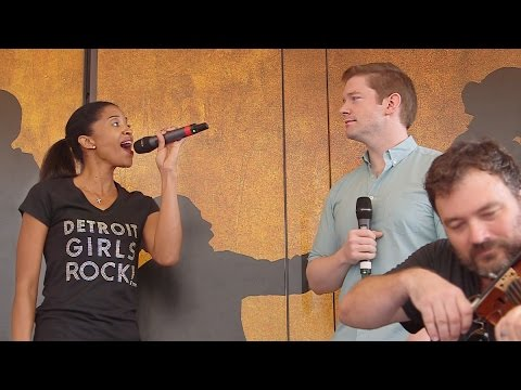 """Hamilton's Final #Ham4Ham! Renée Elise Goldsberry Sings Cut Song """"Congratulations"""""""