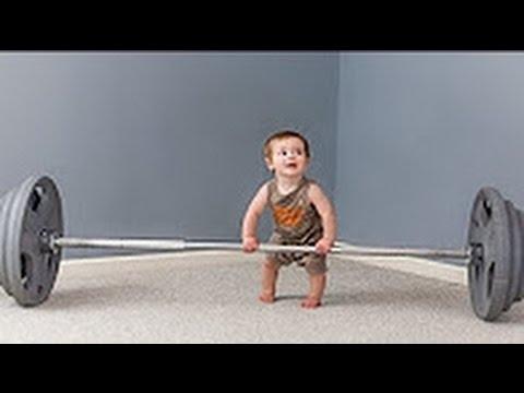 Resultado de imagen de bebé haciendo ejercicio