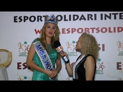 BARCELONAUTES / MIREIA LALAGUNA - MISS MUNDO 2015