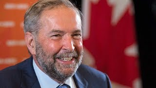 Tom Mulcair honoured by MPs on last day in House of Commons