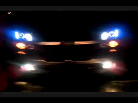 Halo Projection lights 2005 Chevy Silverado - YouTube