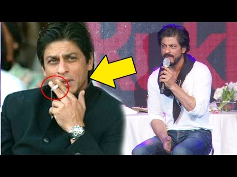 Shahrukh's SHOCKING Comment On His Chain Cigarette SMOKING Habit