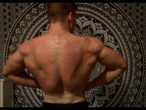 Natural Teen Bodybuilding | FULL BACK Workout Routine
