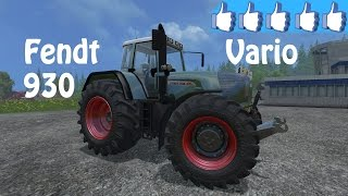 Review Fendt Vario 930 TMS #FS15
