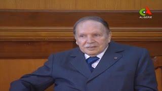 شاهد .. الرئيس بوتفليقة يستقبل رئيس حكومة الوفاق الوطني الليبية فايز السراج