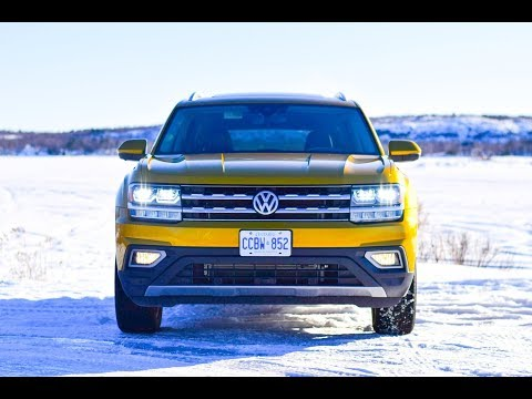 2018 Volkswagen Atlas 4Motion Execline Test Drive Review