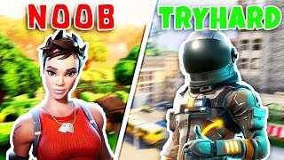 Top 5 SKINS que TRYHARDS utiliser dans FORTNITE Battle Royale #2