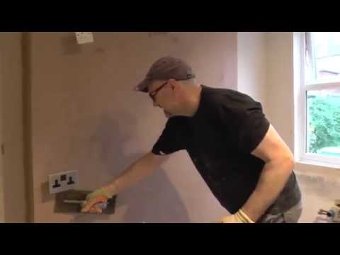 DIY: How to plaster a wall / How to skim a chimney breast
