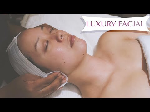LUXURY FACIAL TREATMENT with LA PRAIRIE | SEREIN WU