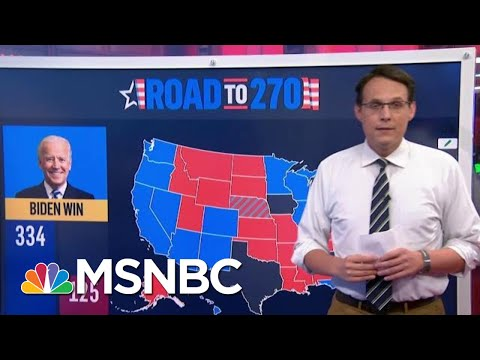 NBC News Unveils Its First 2020 Battleground Electoral Map Today | MTP Daily | MSNBC