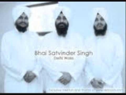 Bhai Satvinder Singh (Saachi Baani meethi amrit dhar)