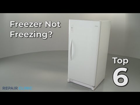 Top 6 Reasons Freezer Not Freezing?