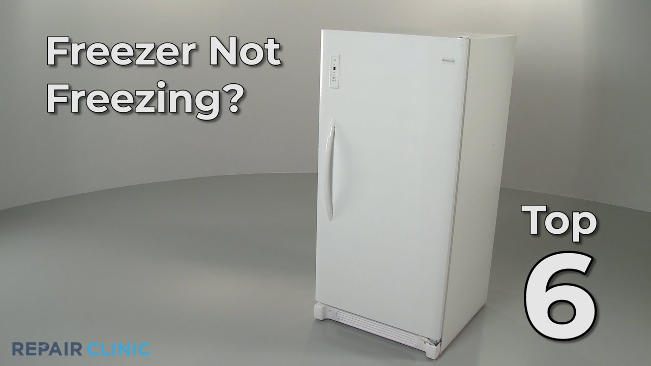 Freezer Isn T Freezing Freezer Troubleshooting Youtube
