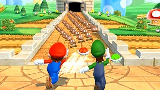 Mario Party 9 MiniGames - Mario Vs Peach Vs Luigi Vs Daisy (Master Cpu)
