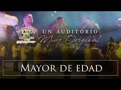 La Original Banda El Limón - Mayor de edad (Desde el auditorio)